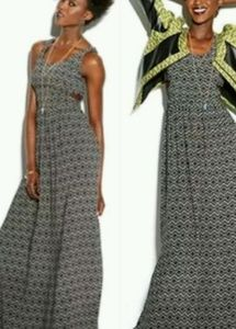MADE FOR IMPULSE Maxi Dress w/ Cut Out Detail!